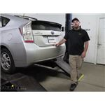 Draw-Tite Sportframe Trailer Hitch Installation - 2011 Toyota Prius
