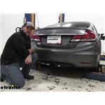 Draw-Tite Sportframe Trailer Hitch Installation - 2014 Honda Civic
