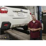 Draw-Tite Sportframe Trailer Hitch Installation - 2016 Subaru Crosstrek