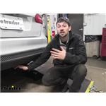 Draw-Tite Sportframe Trailer Hitch Installation - 2018 Ford Focus