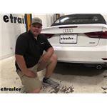 Draw-Tite Sportframe Trailer Hitch Installation - 2019 Audi A3