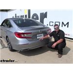 Draw-Tite Sportframe Trailer Hitch Installation - 2020 Honda Accord