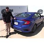 Draw-Tite Sportframe Trailer Hitch Installation - 2021 Honda Civic