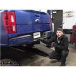 Draw-Tite Max-Frame Trailer Hitch Installation - 2020 Ford Ranger
