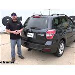Draw-Tite Max-Frame Trailer Hitch Installation - 2014 Subaru Forester