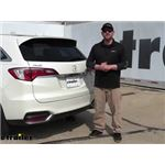 Draw-Tite Max-Frame Trailer Hitch Installation - 2017 Acura RDX
