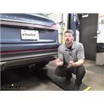 Draw-Tite Max-Frame Trailer Hitch Installation - 2019 Lincoln Nautilus