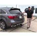 Draw-Tite Max-Frame Trailer Hitch Installation - 2020 Acura MDX