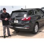 Draw-Tite Max-Frame Trailer Hitch Installation - 2020 Chevrolet Equinox