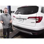 Draw-Tite Max-Frame Trailer Hitch Installation - 2020 Honda Pilot