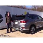Draw-Tite Trailer Hitch Installation - 2020 Hyundai Santa Fe