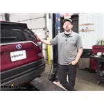 Draw-Tite Max-Frame Trailer Hitch Installation - 2020 Toyota RAV4