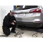 Draw-Tite Max-Frame Trailer Hitch Installation - 2021 Chevrolet Equinox