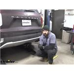 Draw-Tite Max-Frame Trailer Hitch Installation - 2021 Hyundai Palisade