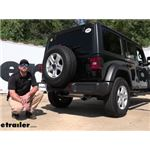 Draw-Tite Max-Frame Trailer Hitch Installation - 2021 Jeep Wrangler Unlimited