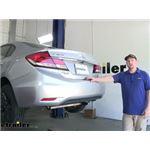 Draw-Tite Sportframe Trailer Hitch Installation - 2013 Honda Civic