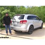 Draw-Tite Max-Frame Trailer Hitch Installation - 2010 Dodge Journey