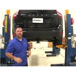 Draw-Tite Max-Frame Trailer Hitch Installation - 2013 Volvo XC60