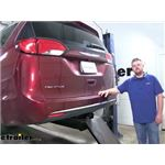 Draw-Tite Max-Frame Trailer Hitch Installation - 2019 Chrysler Pacifica