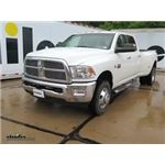 Front Mount Trailer Hitch Installation - 2012 Ram 3500 - Draw-Tite