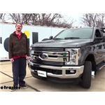 Draw-Tite Front Mount Trailer Hitch Receiver Installation - 2018 Ford F-350 Super Duty