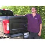 Draw-Tite Hide-A-Goose Underbed Gooseneck Trailer Hitch Installation - 2019 Ford F-250 Super Duty