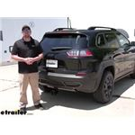 Draw-Tite Max-Frame Trailer Hitch Installation - 2020 Jeep Cherokee