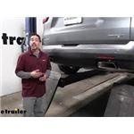 Draw-Tite Max-Frame Trailer Hitch Installation - 2020 Chevrolet Traverse