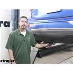Draw-Tite Sportframe Trailer Hitch Installation - 2020 Chevrolet Bolt EV