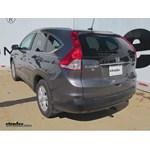 Trailer Hitch Installation - 2013 Honda CR-V - Draw-Tite