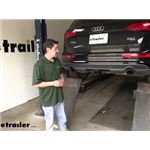 Draw-Tite Max-Frame Trailer Hitch Installation - 2014 Audi Q5