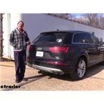 Draw-Tite Max-Frame Trailer Hitch Installation - 2018 Audi Q7