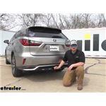 Draw-Tite Max-E-Loader Trailer Hitch Installation - 2018 Lexus RX 350 L