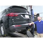 Draw-Tite Max-Frame Trailer Hitch Installation - 2019 Buick Enclave