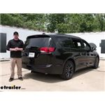 Draw-Tite Max-Frame Trailer Hitch Installation - 2020 Chrysler Pacifica