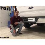 Draw-Tite Max-Frame Trailer Hitch Installation - 2020 Ford F-150
