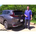 Draw-Tite Max-Frame Trailer Hitch Installation - 2020 Honda CR-V