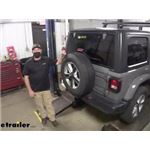 Draw-Tite Max-Frame Trailer Hitch Installation - 2020 Jeep Wrangler Unlimited