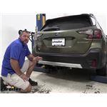 Draw-Tite Max-Frame Trailer Hitch Installation - 2020 Subaru Outback Wagon