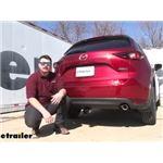 Draw-Tite Max-Frame Trailer Hitch Installation - 2021 Mazda CX-5