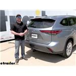 Draw-Tite Max-Frame Trailer Hitch Intstallation - 2021 Toyota Highlander
