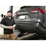 Draw-Tite Max-Frame Trailer Hitch Installation - 2021 Toyota RAV4