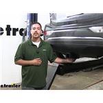 EcoHitch Hidden Trailer Hitch Installation - 2019 Chevrolet Bolt EV