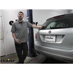 EcoHitch Hidden Trailer Hitch Installation - 2014 Volkswagen Jetta SportWagen