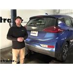 EcoHitch Hidden Trailer Hitch Installation - 2020 Chevrolet Bolt EV