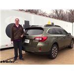 EcoHitch Hidden Trailer Hitch Installation - 2015 Subaru Outback Wagon