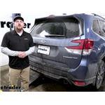 EcoHitch Hidden Trailer Hitch Installation - 2021 Subaru Forester