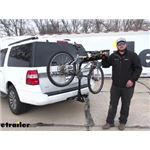 etrailer Tilting 4 Bike Rack Review - 2017 Ford Expedition