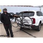etrailer Tilting 4 Bike Rack Review - 2021 Kia Telluride