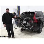 etrailer Tilting 4 Bike Rack Review - 2021 Volvo XC60